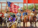 """AMERICAN RODEO Limited Edition Giclee_image"